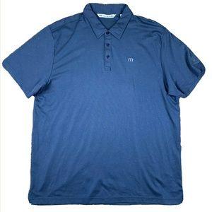 Travis Mathew Mens XXL S/S Golf Polo Shirt